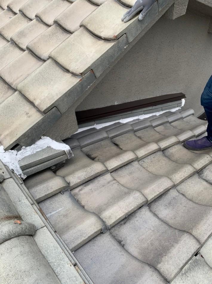 釉薬瓦から雨漏り2