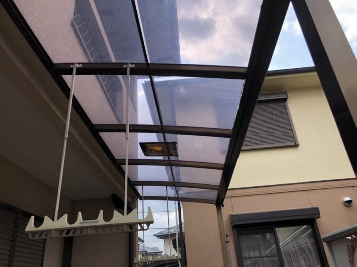 工事前のテラス