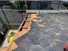 既存の屋根材撤去
