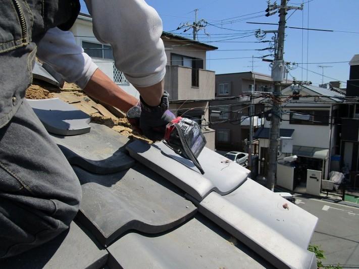 屋根の補修工事2