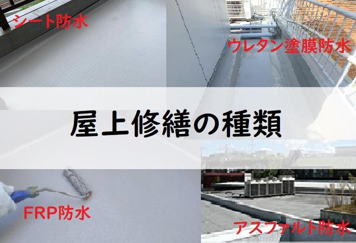 修繕工事の種類