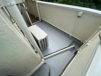 塩ビ防水シートで防水工事