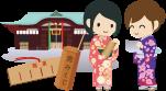 松原市名所・六社参り・布忍神社・恋みくじ
