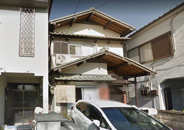 屋根漆喰完成の家